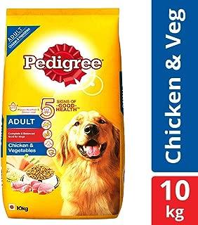 Pedigree Adult Dry Dog Food Food, Chicken and Vegetables, 10kg Pack