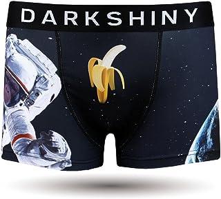 [DARK SHINY(ダークシャイニー)] ボクサーパンツ メンズ ASTRONAUT APE 宇宙飛行士 (YLMM15)