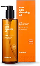 Hanskin Pore Cleansing Oil, Gentle Blackhead Cleanser and Makeup Remover for Dry Skin - Official 2019 Exclusive USA Exported Version [AHA/10.14 oz]