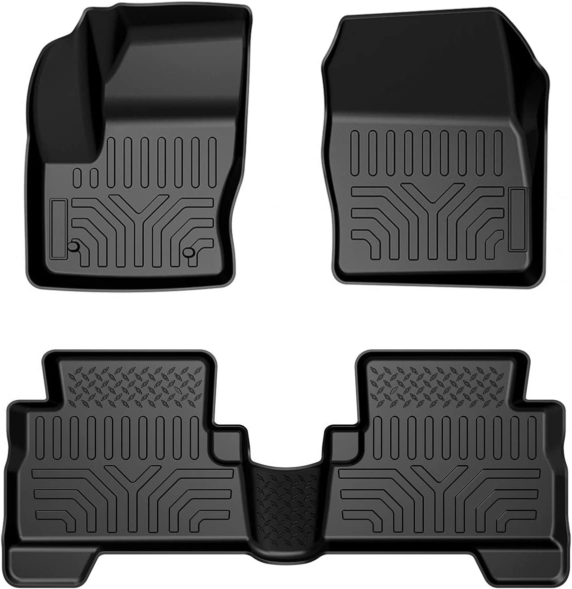 Floor Mats Liners Compatible with Escape All Classic Max 42% OFF Wea Ford 2013-2019