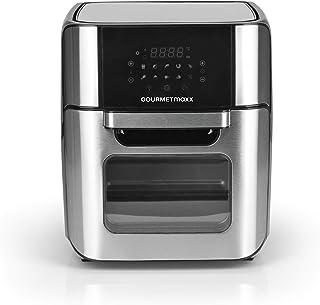GOURMETmaxx Friteuse à air chaud XXL 12 litres   Friteuse pour une friture facile sans graisse, mini-four avec air circula...