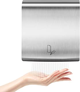 PowerPress AHD-2016-01 PENSON & CO. Ultrathin Automatic Electric Hand Dryer Commercial High Speed, Instant Heat & Dry, for Bathroom K2016, K2016-ultrathin