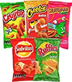 Sabritas Mexican Chips Variety Pack, (5 Pack) Assortment of Spicy, Corn, and Tortilla Chips from Mexico, Includes Mexican Ruffles Chips, Mexican Churros Chips, Makes A Great Gift by Ole Rico