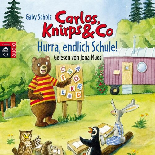 Hurra, endlich Schule! audiobook cover art