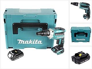 comprar comparacion Makita dfs251y1j batería–Atornilladora eléctrica (18V/systemkit, 1batería en Makpac