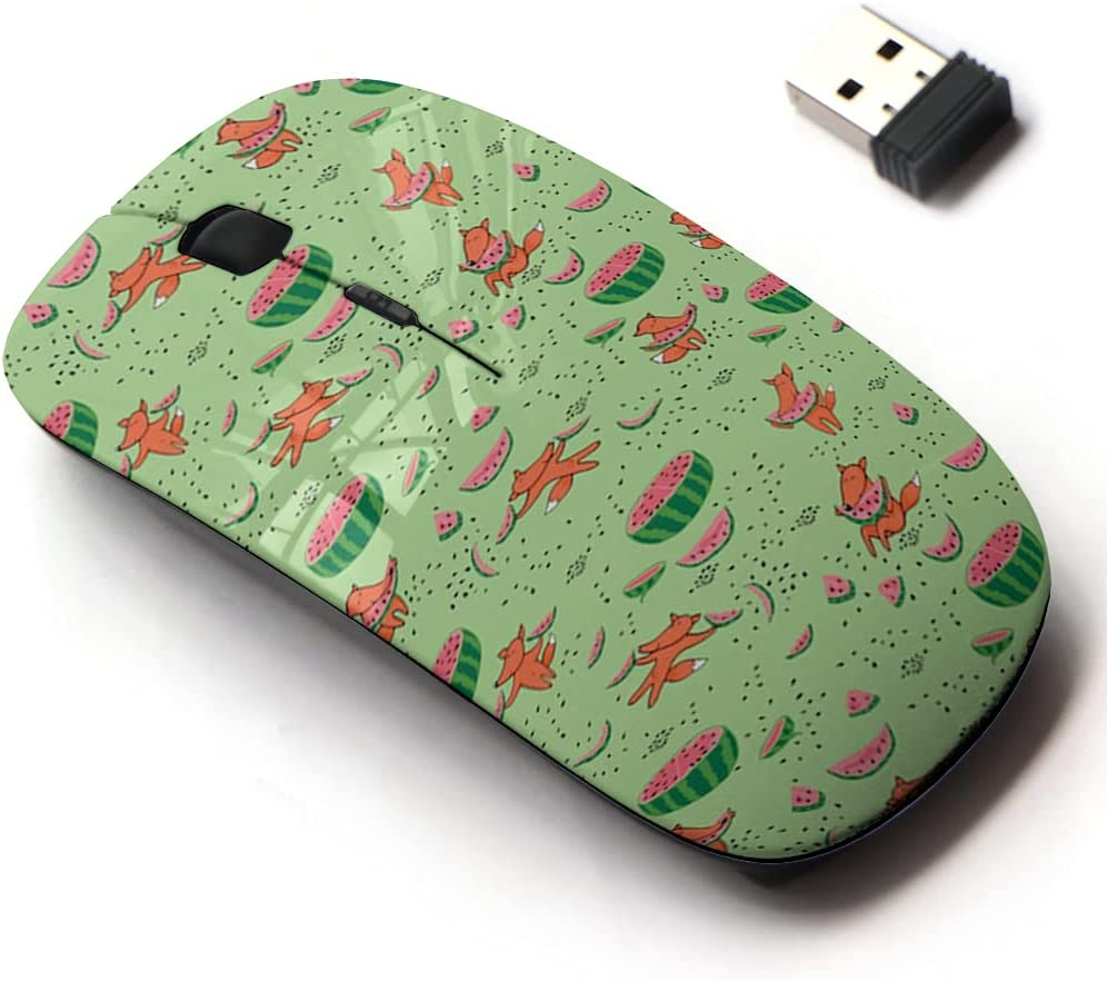 Low price 2.4G Wireless Mouse with Cute Pattern and Design Laptops Product for All