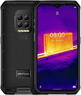 Ulefone Armor 9 (2020) 4G Smartphone zonder contract, Helio P90 Octa Core 8GB RAM + 128GB ROM, 64MP warmtebeeldcamera, 6,...