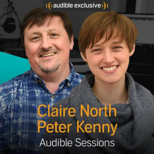 Claire North and Peter Kenny audiobook cover art