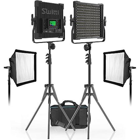 Walimex Pro Led Sirius 160 Bi Color Set Mit Stativ 1x Kamera