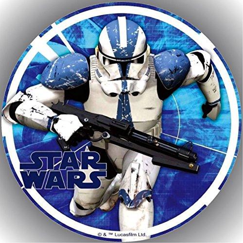 Fondant Tortenaufleger Tortenbild Geburtstag Star Wars AMA1