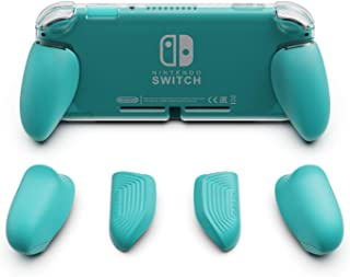 Skull & Co. GripCase Lite: A Comfortable Protective Case with Replaceable Grips [to fit All Hands Sizes] for Nintendo Swit...