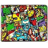 Cartera de Marvel Avengers Caracteres controladas Multicolor
