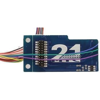 Adapterplatine für 21 MTC Schnittstelle für ESU Märklin und Uhlenbrock