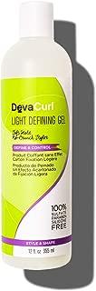 DevaCurl Light Defining Styling Hair Gel, 12oz