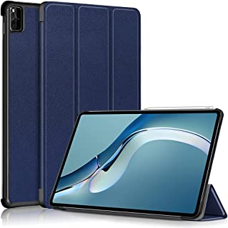 Fegishilly Tablet Case for MatePad Pro 12.6'' (2021) WGR-AN19, PU Leather Multi-Angle Stand Cover, Premium Folio Smart-She...