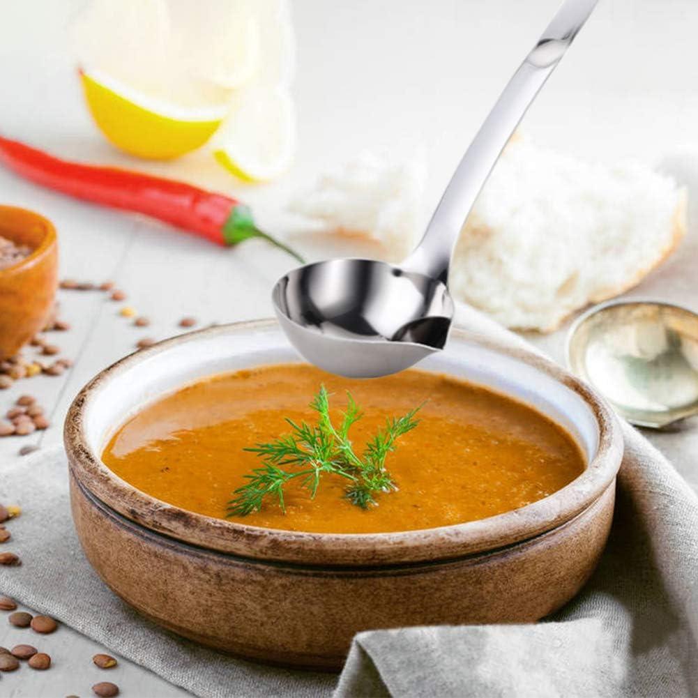 Fantakit Stainless Steel Oil Soup Separator Spoon Oil Filter Spoon ...