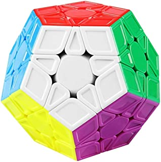 Emob® High Speed Stickerless Megaminx Magic Puzzle Game Toy
