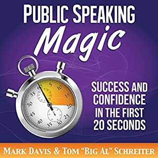 Public Speaking Magic audiobook cover art