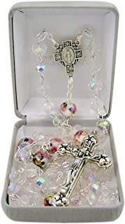 heart with rosary