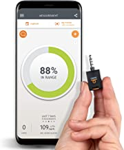 Dario Blood Glucose Meter Starter Kit for Android, All-In-One Blood Sugar Monitor, 25 Test Strips, 10 Sterile Lancets, 10 Disposable Covers. Mini, Smart Self-Care Glucose Meter for Monitoring Diabetes