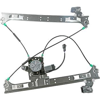 VioletLisa New 1pc Front Driver Left Side FL Window Regulator w//Motor For 10-11 Equinox /& 10-11 GMC Terrain