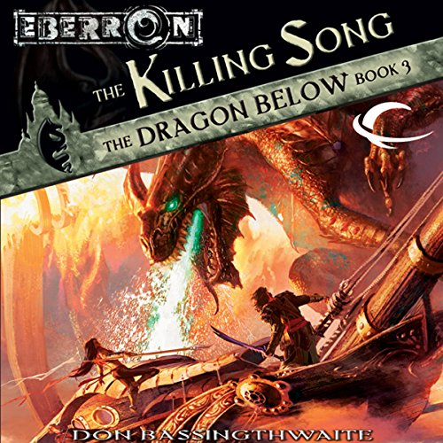 The Killing Song audiobook cover art