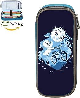 bagshome Ghost Rider Big Capacity Canvas Key Bag Holder for Bairn Blue