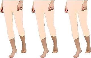 My Dreams Women Capri Shorts(Rangoli)-(Pack of 3)