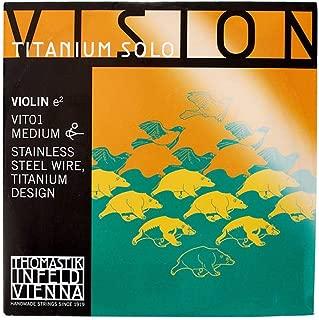 Thomastik-Infeld VIT01 Vision Titanium Solo Violin E Strings 4/4 Size