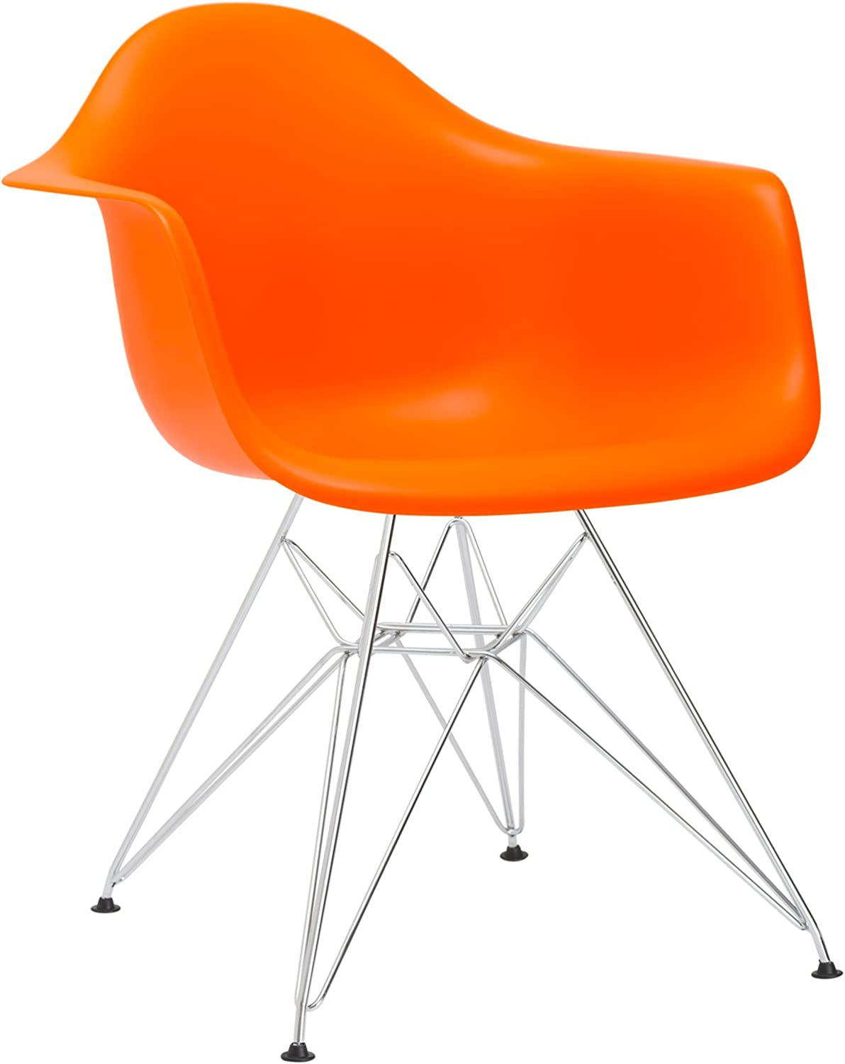 Poly and Bark Padget Arm Chair in orange