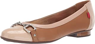 MARC JOSEPH NEW YORK Womens Womens Genuine Leather Made in Brazil Park Ave Flat