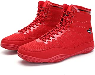 Boxing Shoes, Breathable Wrestling Boots Non Slip Boxers Trainers Exercise Fitness Climbing Boots