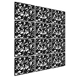 LRZCGB Hanging Room Divider,12pcs Safety PVC Screen Panel...