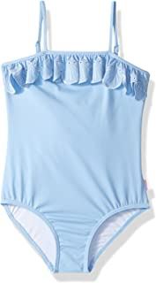 Seafolly Little Girls' Sweet Summer Frill Tube Tank Swimsuit
