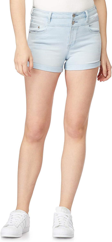 交換無料 WallFlower Women's 数量は多 Juniors InstaSoft Rise Sassy High Shorts