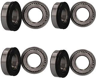 CONJUNTO X 4 Remolque Rodamiento L44643L//L4610 /& L44643//L44610 /& LM44600LA /& 44643//44