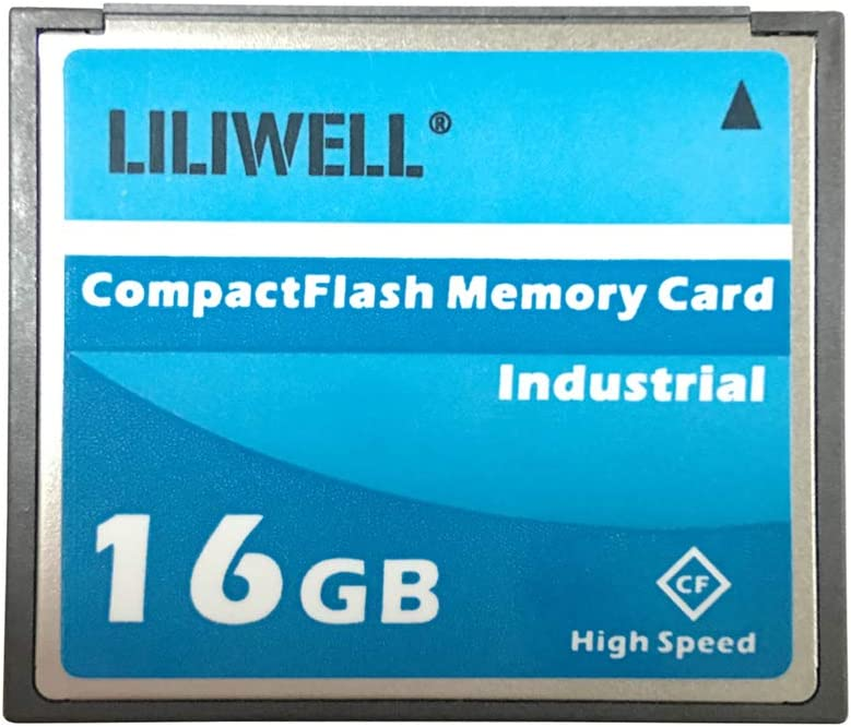 LILIWELL Original 16GB Compact Flash Memory Card Speed Up to 50MB/s Industrial CF16GB Cards
