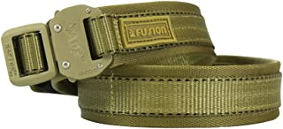 Tactical Military Police Trouser Belt Coyote Brown Small 28-33