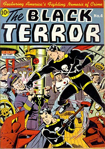 The Black Terror - Issue 004 (Golden Age Rare Vintage Comics Collection (With Zooming Panels) Book 4) (English Edition)