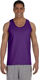 2200- Classic Fit Adult Tank Top Ultra Cotton - First Quality - Purple - Large