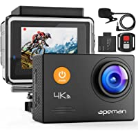 Apeman A79 4K 20MP WiFi Underwater Sports Action Camera