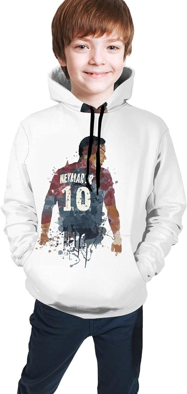 Paris Psg #10 Neymar 2021 Fashion Hooded Sweater Hoodies For Teens Boys Girls With Pocket