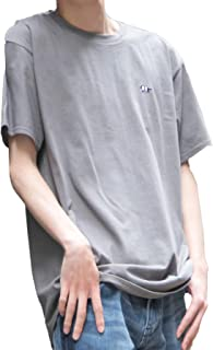 [セカンドルーツ] ストライプジャガー 半袖 メンズ ユニセックス ジャガー刺繍 綿 カットソー ストライプ ジャガー Tシャツ