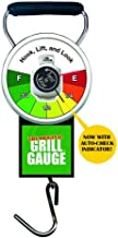 Grill Gauge Original Propane Tank Scale for BBQ Grill, Patio Heater, RV Camper - Improved Design with Easy Lift Indicator - Works on Standard 15/20 lb Labelled Exchange Tanks