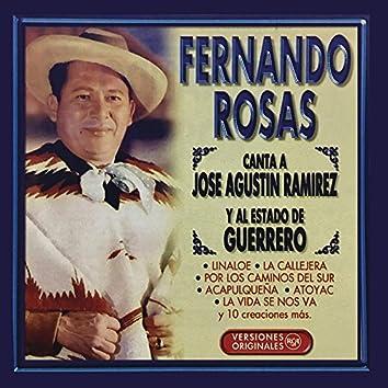 Fernando Rosas Canta a José Agustín Ramírez y al Estado de Guerrero