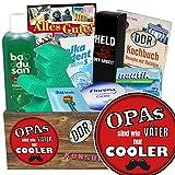 Opas sind wie Väter... / Geschenk für Opa zum Geburtstag / Pflege Box der DDR