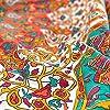momomus Arazzo Mandala - Stella- 100% Cotone, Grande, Multiuso - Telo Arredo Copridivano/Copritutto - Copriletto Matrimoniale - Plaid/Gran Foulard per Divano - Arancia, 210x230 cm #4