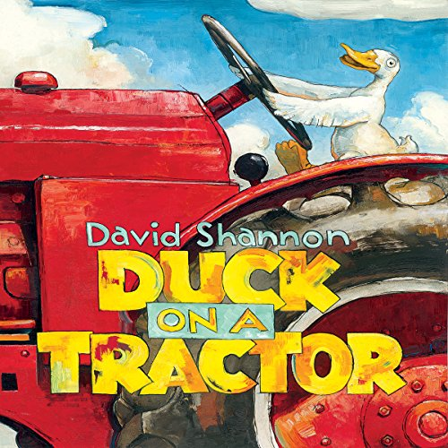 Duck on a Tractor audiobook cover art