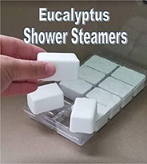10pc All Natural Eucalyptus and Menthol SHOWER STEAMERS Very Strong, 15 oz
