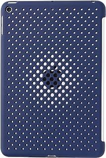 AndMesh iPad mini5 ケース Mesh Case 放熱 薄型 軽量 純正スマートカバー対応 背面ケース ミッドナイトブルー 612-960618